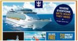 Royal Caribbean: Enjoy Kids Cruise FREE, $11 Upgrade to Balcony, Seniors' Special, 4-To-Go Special Offers at VivoCity Roadshow!