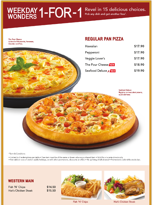 Pizza-Hut-1-For-1-Weekday-Promotion