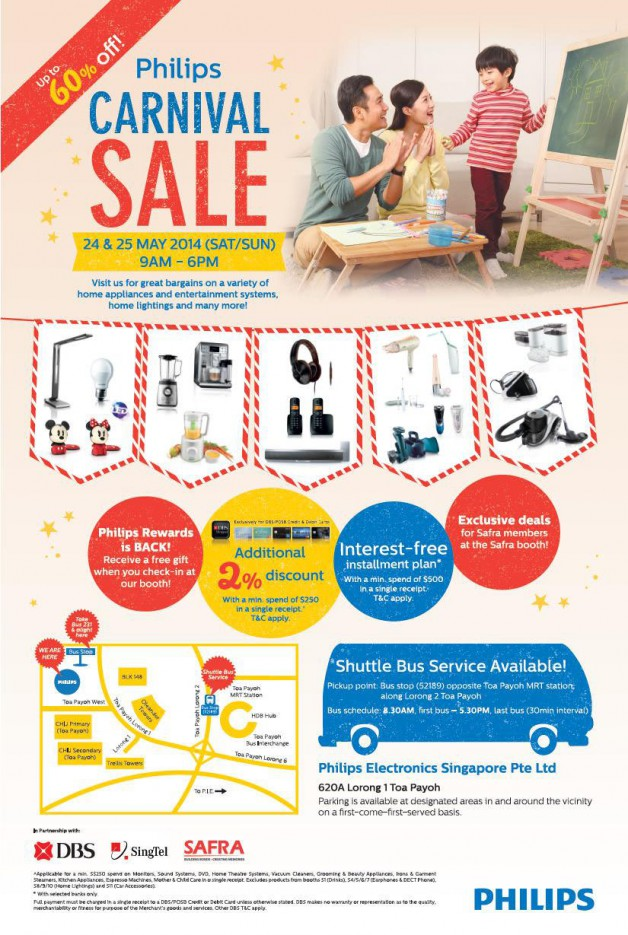Carnival Sale  >> Philips Electronics Singapore Carnival Sale May 2014 Bq Sg