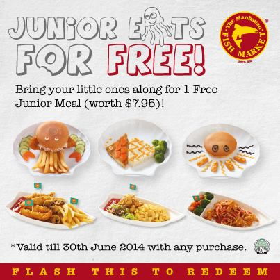 Manhattan Fish Market | Free Junior Meal with any purchase