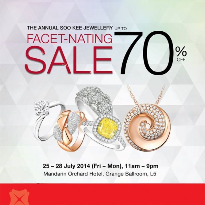 Soo Kee | The annual jewellery sale up to 70% off