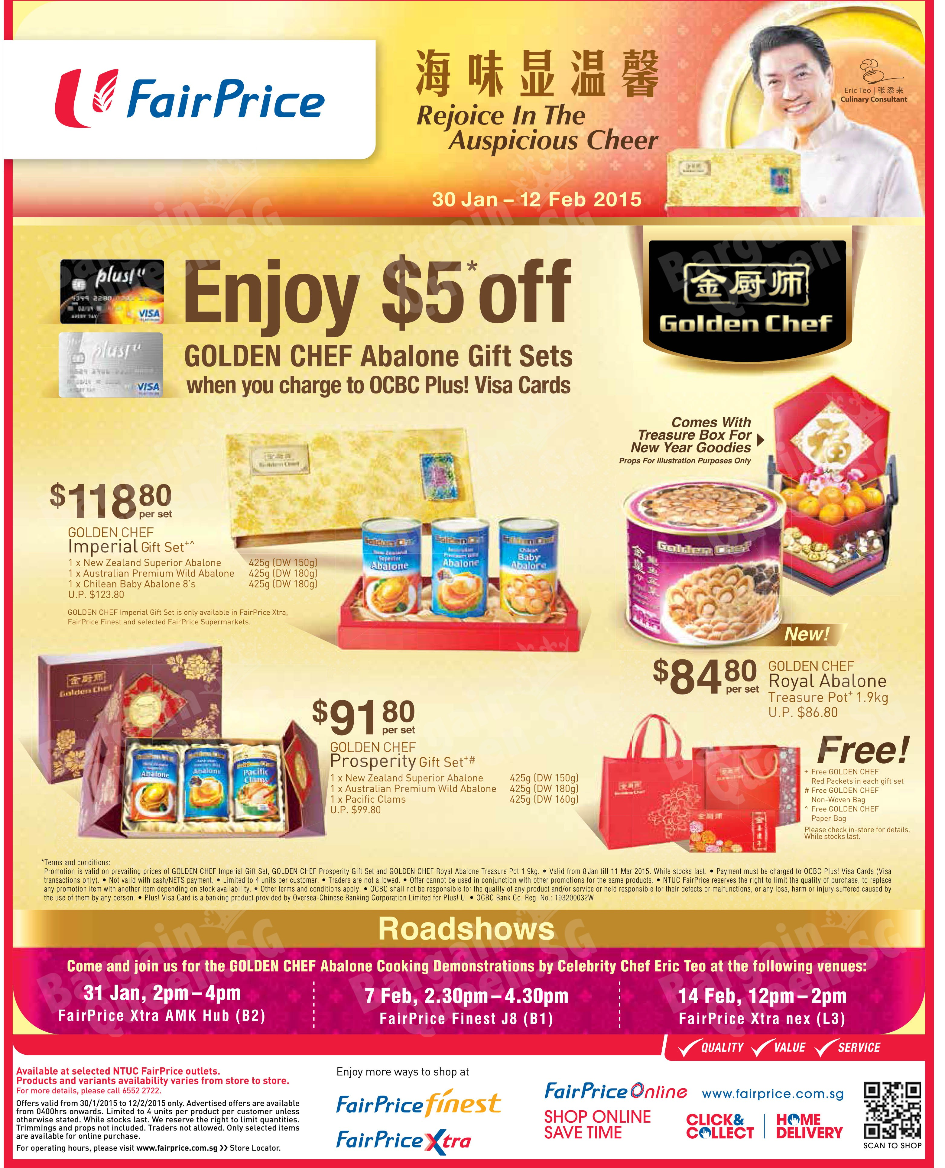 Ntuc abalone promotion