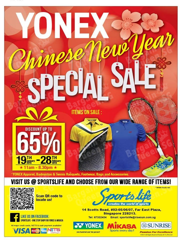 Yonex Chinese New Year Special Sale Till 28 Feb 2015 - 👑BQ