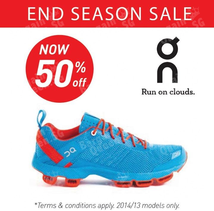 0aee43f62 50% off On Cloud running shoes   Running Lab - 👑BQ.sg BargainQueen