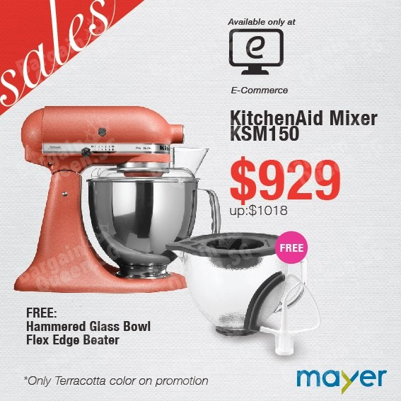Great KitchenAid Sales @ Mayer   👑BQ.sg BargainQueen Good Ideas