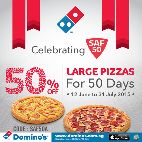 domino pizza singapore coupon code 2019
