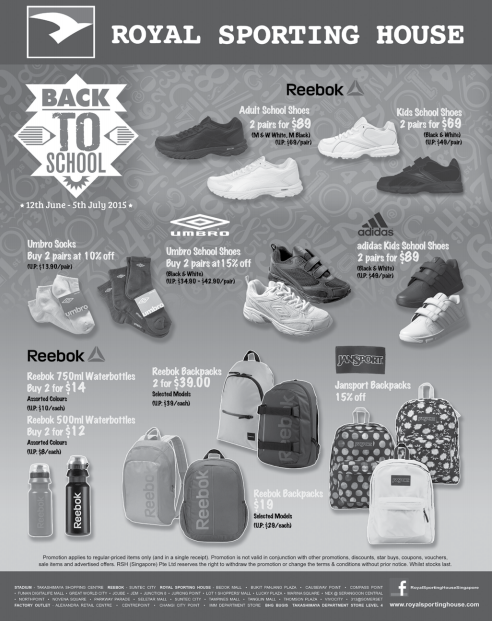 Royal Sporting House: Back To School 5