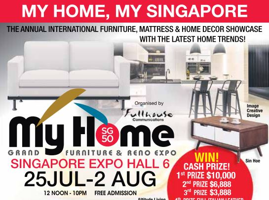 My Home Grand Furniture U0026 Reno Expo 25 Jul   2 Aug 2015   👑BQ.sg  BargainQueen