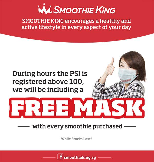 Smoothie King May2018 Promos Sale Coupon Code Bq Bargainqueen
