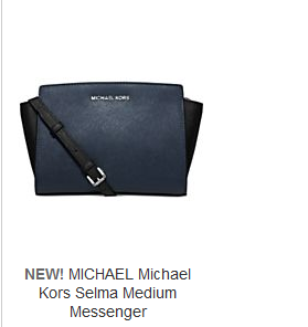 Macys Offers An 40 Off Extra 20 Select Michael Kors Selma Handbags Via Coupon Code With Direct Shipping To Singapore