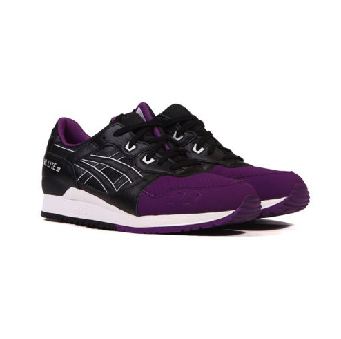 best loved d36d9 420dd eBay: Asics Gel LYTE iii 3 (Purple/Black) Men's Shoes H5V0L ...