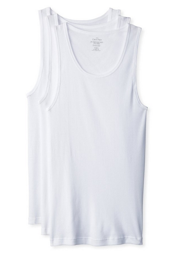 124fffc943ccd1 Amazon offers Calvin Klein Men s 3-Pack Cotton Classic Rib Tank Top from  US 22.29 with US 9.98 shipping to Singapore. Free international shipping to  ...