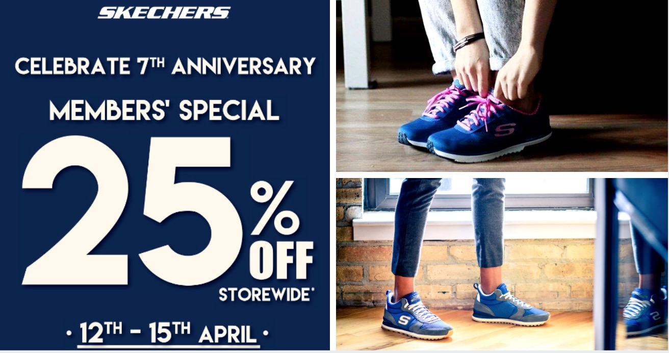 skechers singapore promotion
