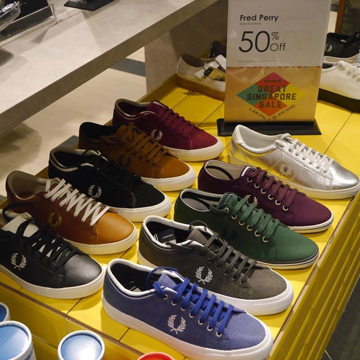 fred perry sneakers sale