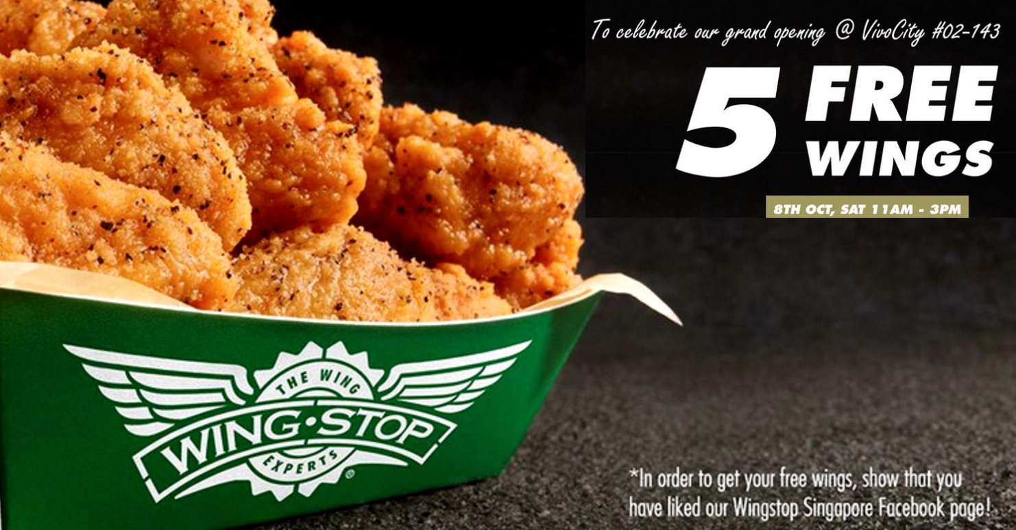 Wingstop March 2019 Promos Sale Coupon Code Bq Sg Bargainqueen