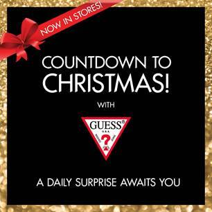 f9afa52b7a  GUESS Singapore  COUNTDOWN TO CHRISTMAS WITH GUESS! Check out our ONE DAY  ONLY exclusive offers in-stores.Click here to find out