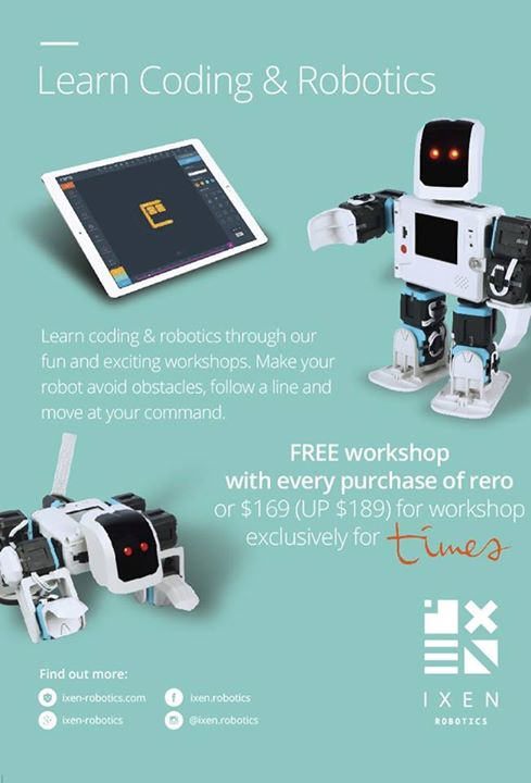 Times Bookstores Learn Coding And Robotics Purchase A Rero And