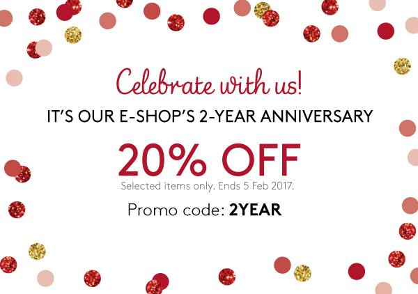 4d4ee03072 Happy 2nd Anniversary to our E-shop! 20% OFF on us! Shop now  http    sg.triumph.com offers anniversary-sale