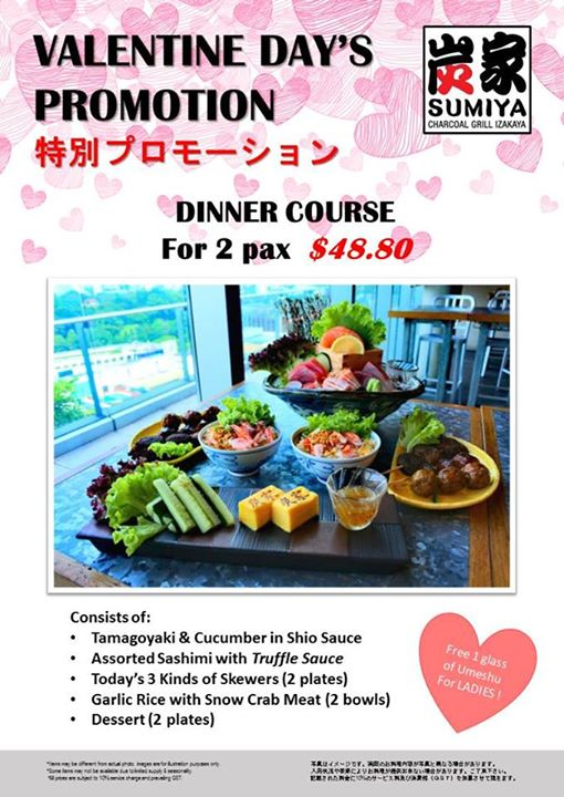 Orchard Central Special Valentine S Day Dinner Promotion With