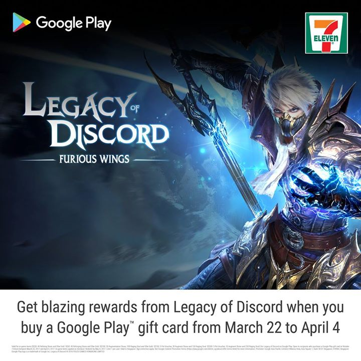 7-Eleven Singapore] Calling all Legacy of Discord - Furious Wings ...
