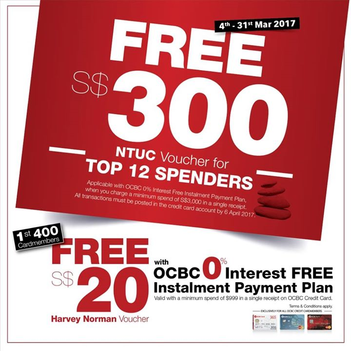 OCBC Credit Card Discount, Promotion - Page 8 of 8 - 👑BQ.sg ...