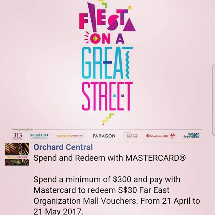 Orchard Central May,2019 Promos, Sale, Coupon Code 👑BQ sg
