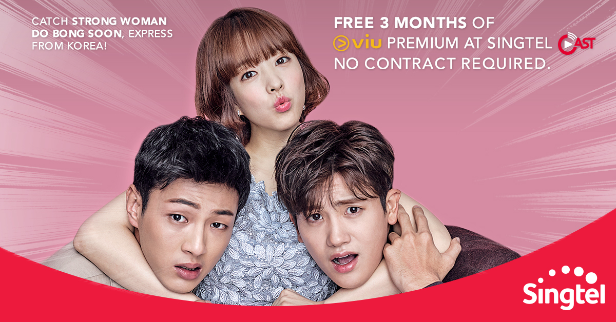 Singtel] Binge on all your favourite Korean shows with Viu