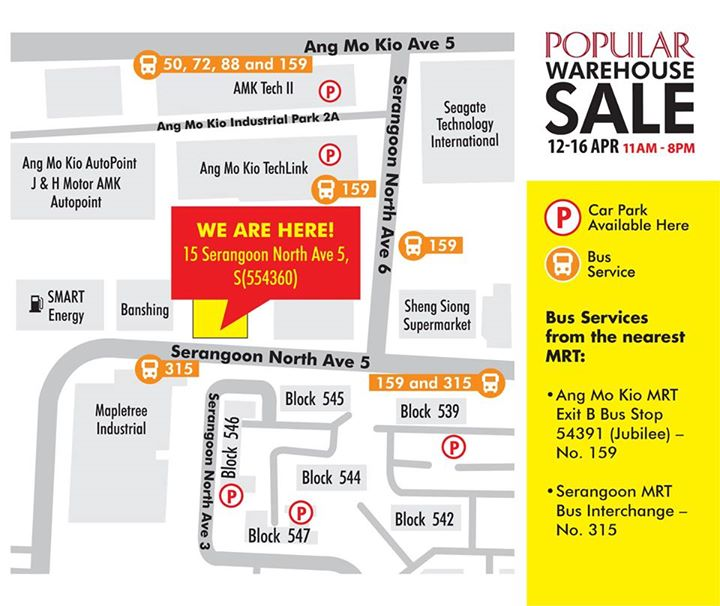 Popular Bookstore Planning To Visit The Popular Warehouse Sale