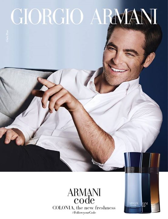 Bhg Singapore A New Aromatic Version Of The Armani Code Has Arrived