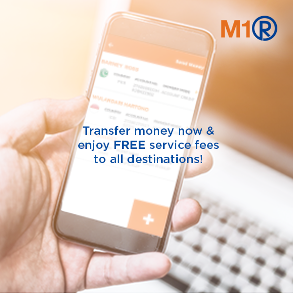 M1 Introducing The New Remit You Can Now Securely Transfer Money To Desh Philippines Indonesia India Myanmar Malaysia And More