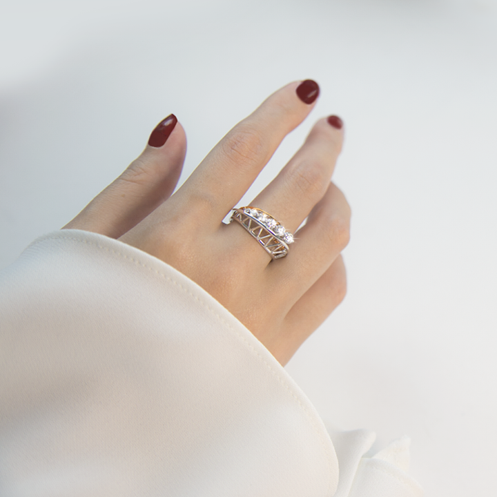 f1ac56367f0be Lee Hwa Jewellery] Featuring white and rose gold with our ...