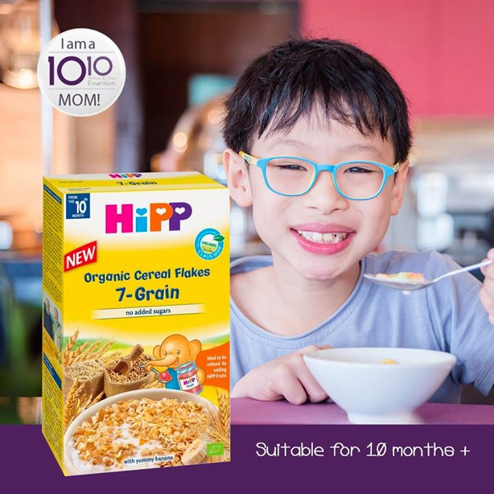 10 10 mother child essentials hipp organic kids 7 grain muesli is grain cereals in small easy to chew pieces that are ideal for first self spoon attempts suitable for ages 10 months and available at 10 10 stores ccuart Choice Image