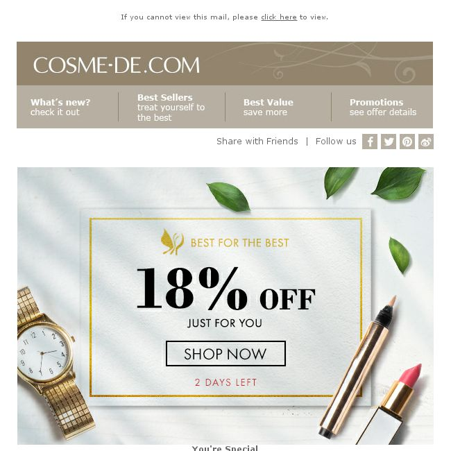 82a11ae335f71  COSME-DE.com  HURRY UP! 18% off on your order! - 👑BQ.sg BargainQueen