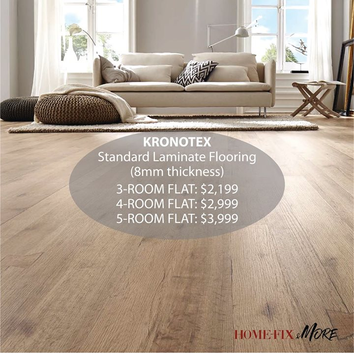 Home Fix Singapore Lay Your House With German Made Laminate Flooring That Makes Cleaning And Maintenance Relatively Easy Bq Sg Bargainqueen
