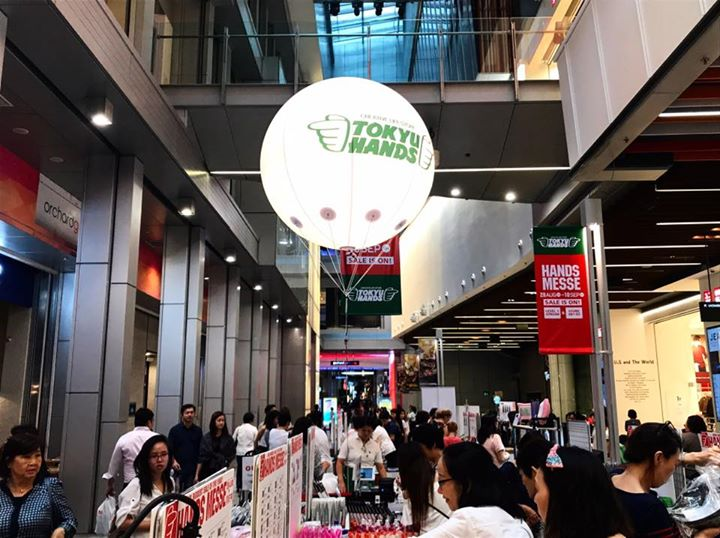 Orchard Central] TOKYU HANDS Singapore's Hands Messe event