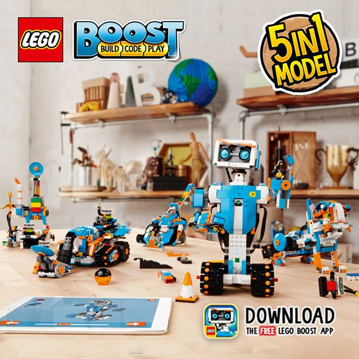 Babies'R'Us] Together with the LEGO® BOOST set (17101), the LEGO ...
