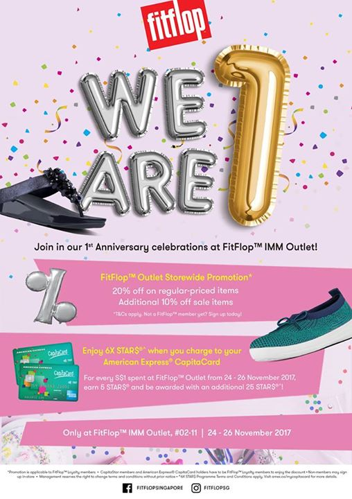 [FitFlop] Our FitFlop™ Outlet store at IMM outlet mall turns ONE! -  <div class=