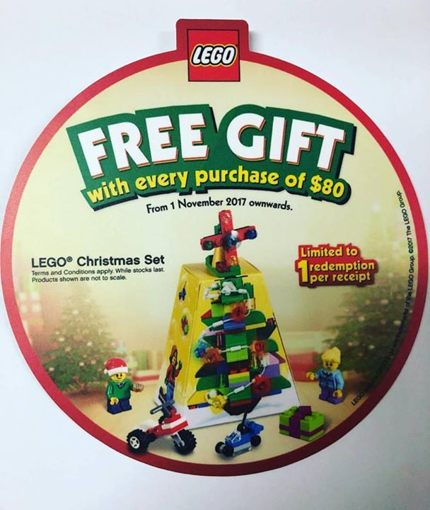 Toy Station] LEGO X'MAS GIFT WITH PURCHASE PROMO! - 👑BQ.sg BargainQueen