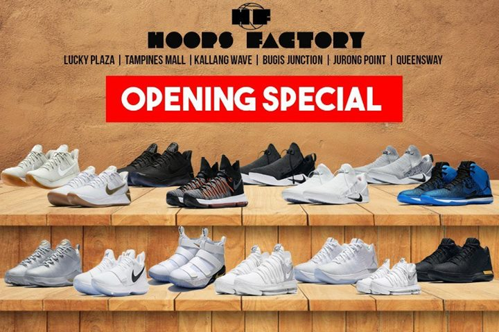 [Hoops Factory] Opening Special To celebrate the opening of our 9th outlet  located at Queensway Shopping Centre, we are having a 30% -  <div class=