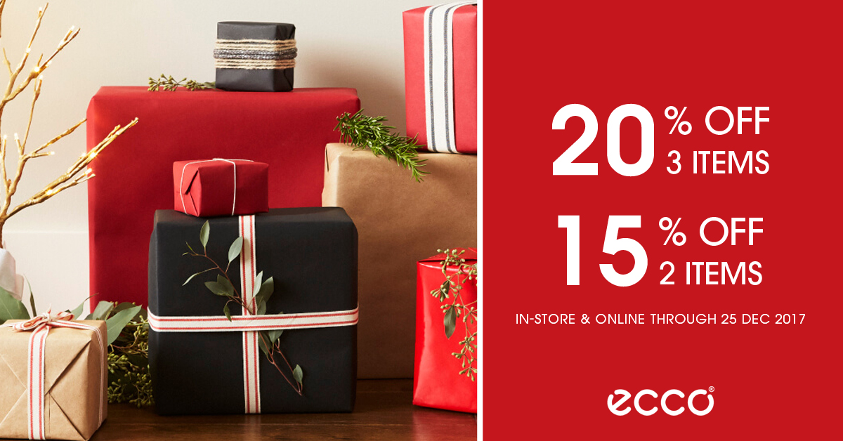 ECCO  ECCO Celebrates Christmas with this special sale just for you! - 👑BQ .sg BargainQueen 9ddfc4118ba