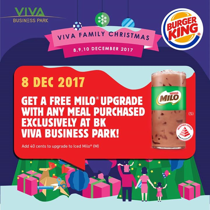 Burger King Singapore In Collaboration With Viva Business Park S