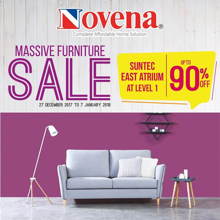 Novena Novena Massive Furniture Sale Is Now Happening At Suntec