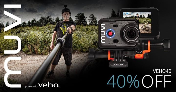 Veho] Check out our Veho Muvi K-Series Action Camera range