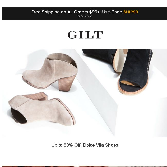 Dolce Vita Shoes, Emerging Brands Feat