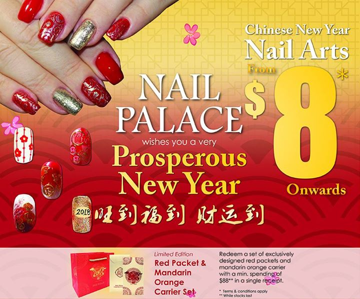 Sun Plaza] Prep up for the Lunar New Year with Nail Art at Nail ...