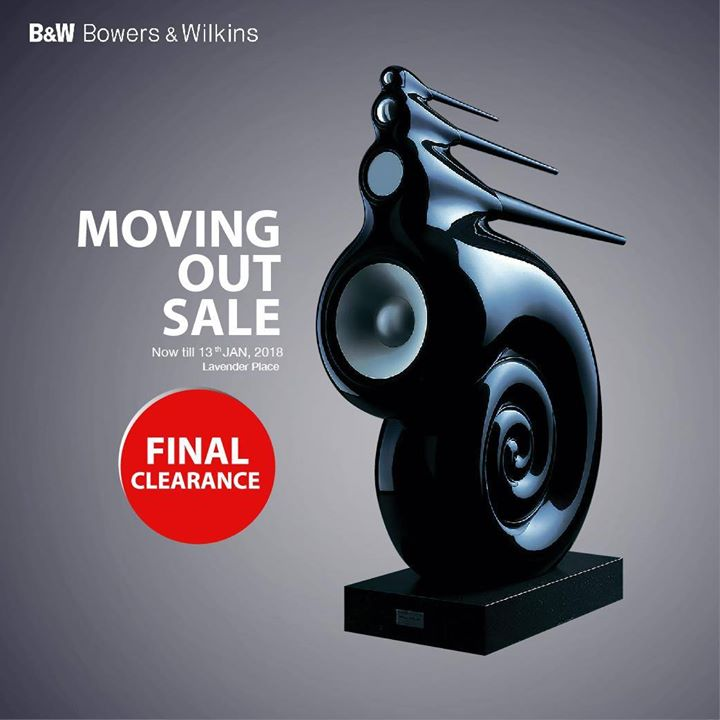 90472fe8456c  B W Bowers   Wilkins  Last chance to grab your favorite sound system at  our Moving Out Sale!