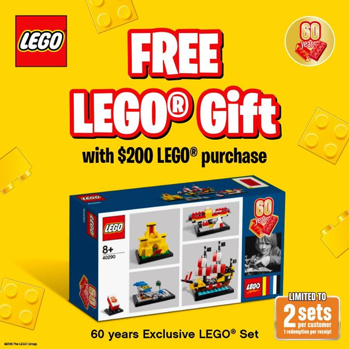 Bricks World (LEGO Exclusive)] Exclusive Gift with Purchase – 60 ...