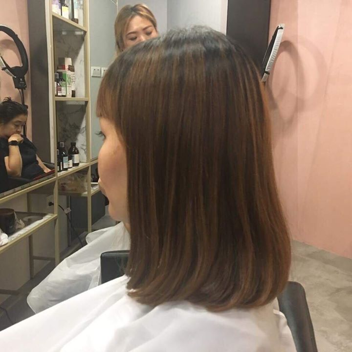 Pro Trim Hair Salon Shoulder Length J Curve Maintenance Free