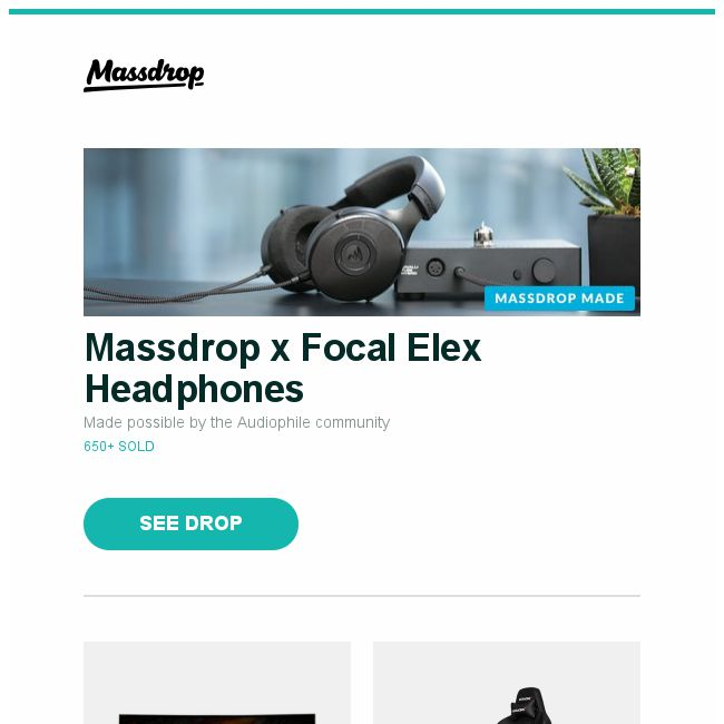 Massdrop] Massdrop x Focal Elex Headphones, MSI 24