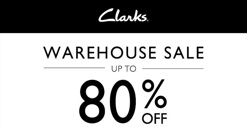 Clarks: Warehouse Sale 2018 with Up to